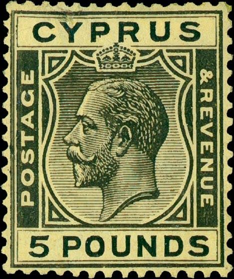 Cyprus_1923_King_George_V_5pound_Genuine