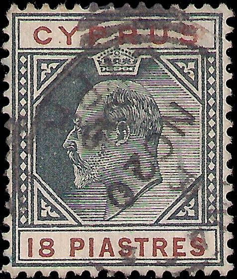 Cyprus_Edward_18piastres_Genuine
