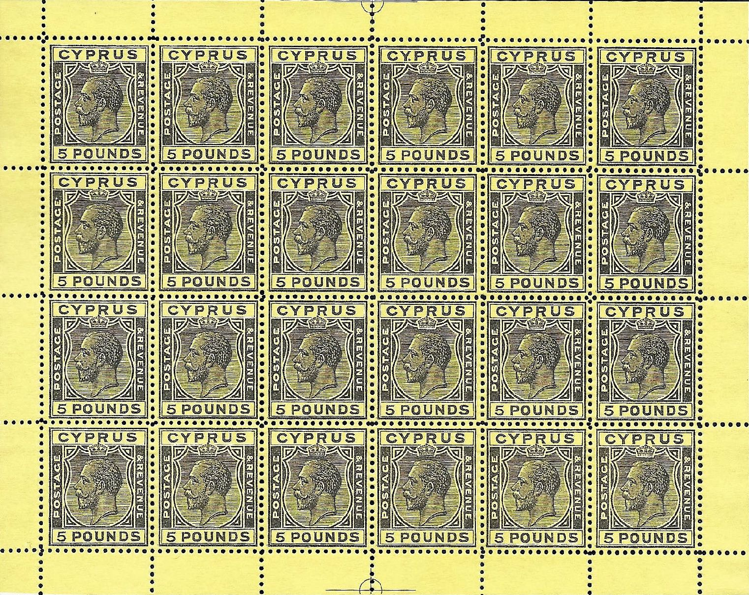 Cyprus_King-George_5pound_Sheet_Forgery