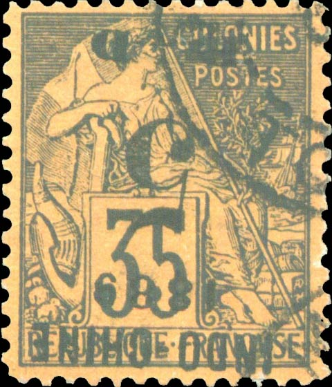 Indo-China_1889_Inverted-overprint_Forgery