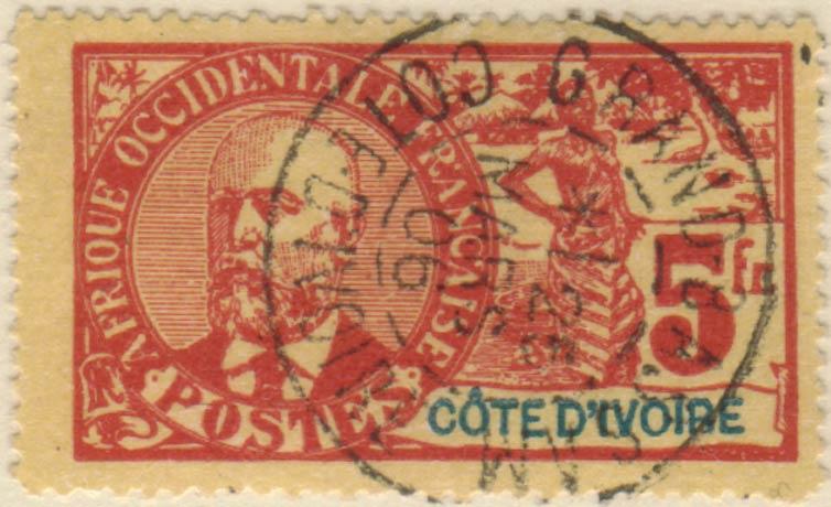 Ivory_Coast_1906_5f_Fournier_Forgery