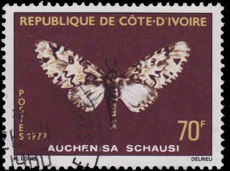 Ivory_Coast_1979_70f_Genuine