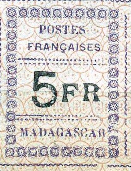 Madagascar_13_5f_Forgery