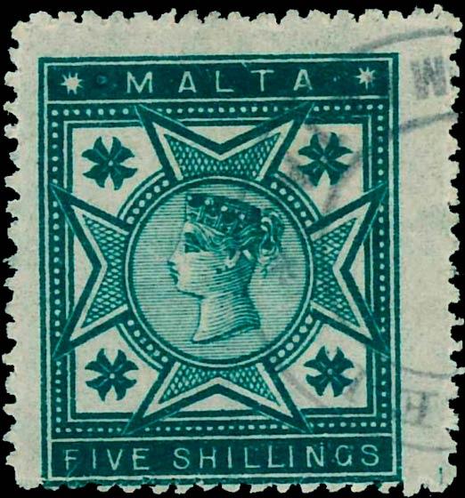 Malta_QV_1885_5s_Forgery
