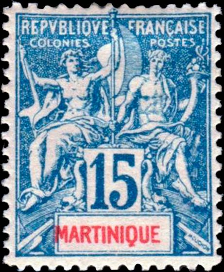 Martinique_1892_15c_Hirschburger_Forgery