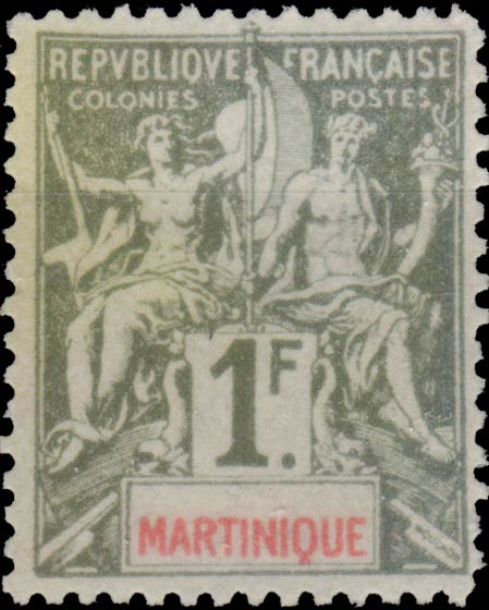 Martinique_1892_1f_Hirschburger_Forgery