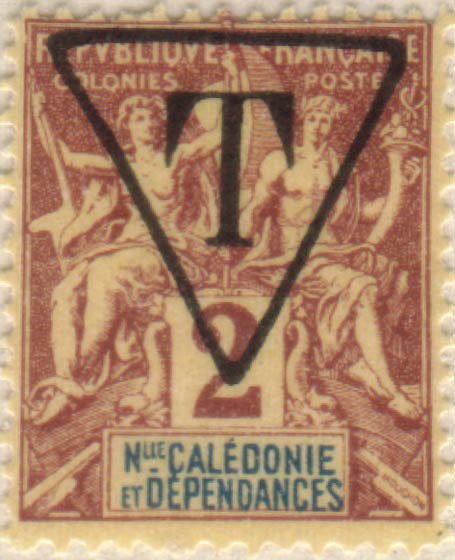 New_Caledonia_1892_2c_T_Hirschburger_Forgery