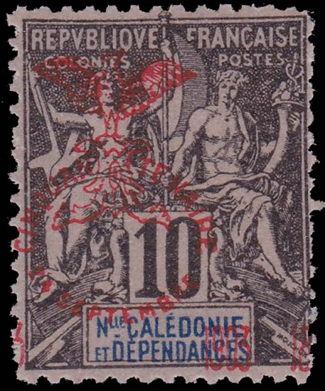 New_Caledonia_1903_10c_Forgery