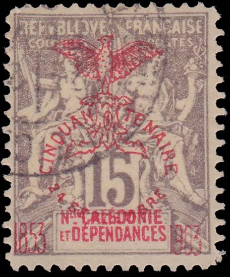 New_Caledonia_1903_15c_Forgery