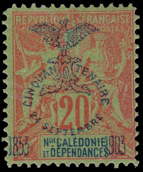 New_Caledonia_1903_20c_Forgery
