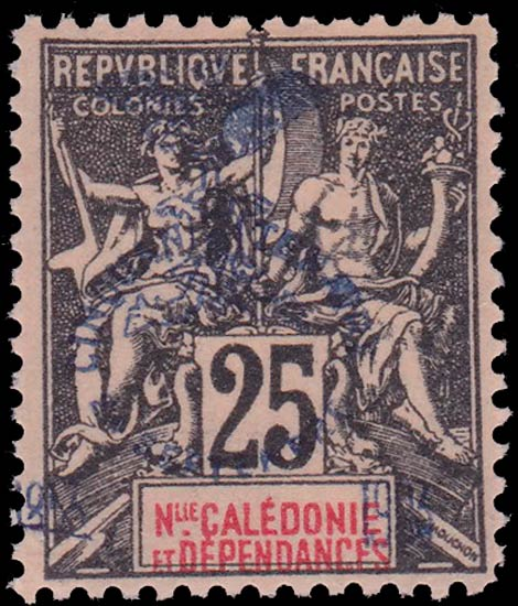 New_Caledonia_1903_25c_Forgery