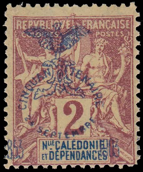 New_Caledonia_1903_2c_Forgery