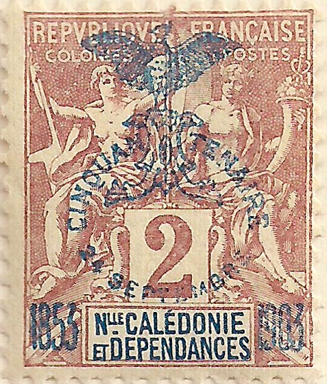 New_Caledonia_1903_2c_Genuine