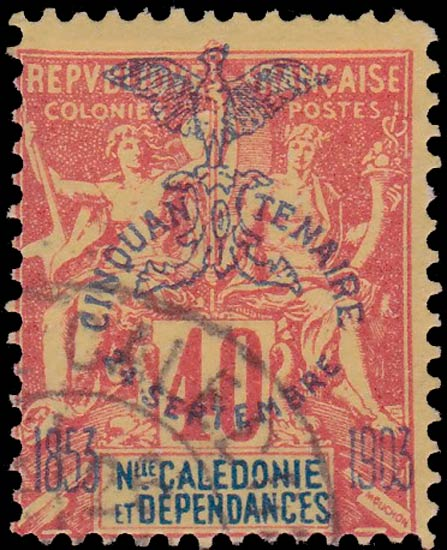 New_Caledonia_1903_40c_Forgery