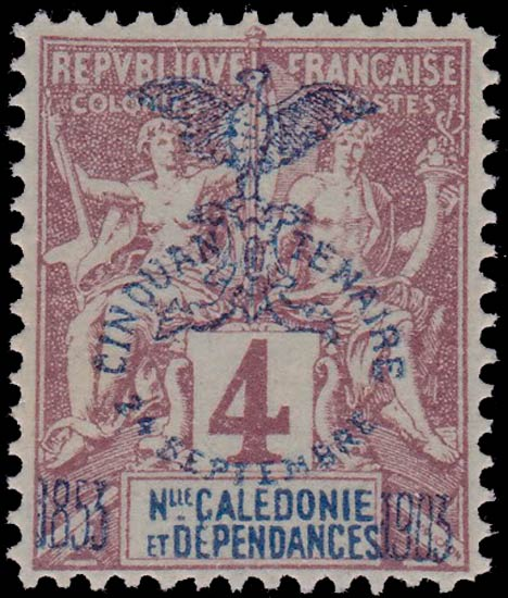 New_Caledonia_1903_4c_Forgery