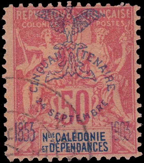 New_Caledonia_1903_50c_Forgery