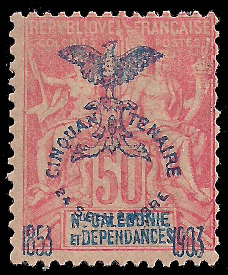 New_Caledonia_1903_50c_Genuine