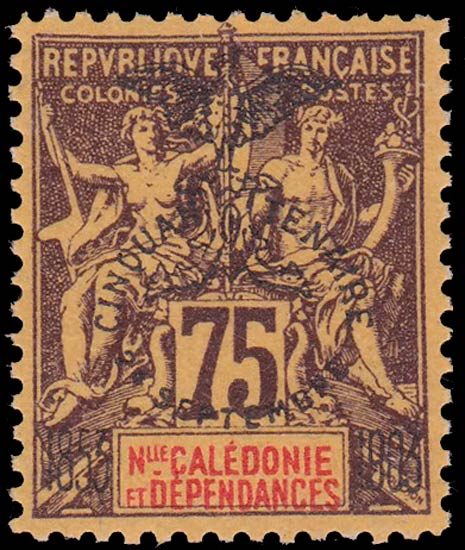 New_Caledonia_1903_75c_Forgery