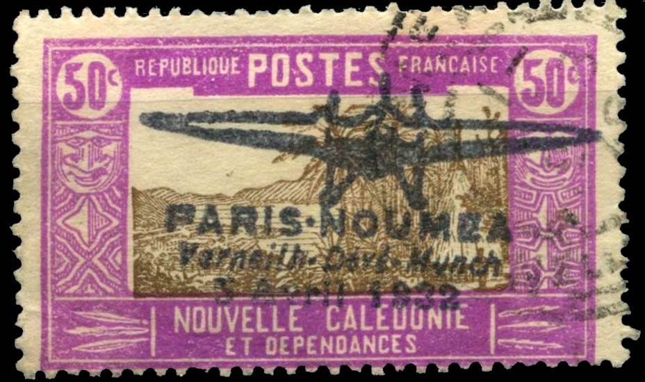 New_Caledonia_1932_Airmail_50c_Forgery