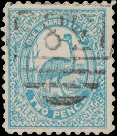 New_South_Wales_2p_Emu_Postal_Forgery