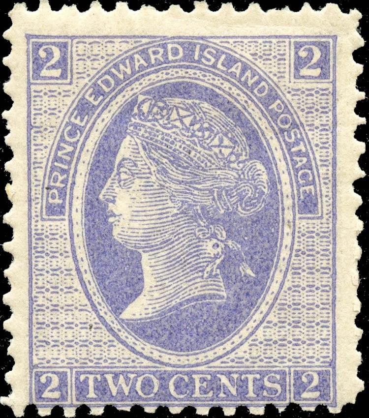 Price_Edward_Island_1872_QV_2p_Genuine