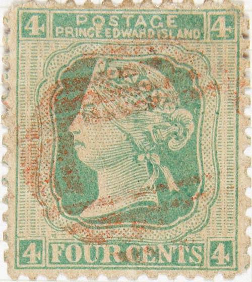 Price_Edward_Island_1872_QV_4p_Taylor_Forgery