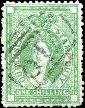 Queensland_1871_Chalon_1s_Forgery