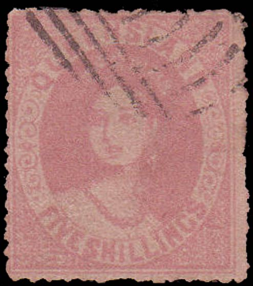 Queensland_1866_QV_5s_Forgery