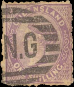 Queensland_QV_Forged_BNG_Postmark