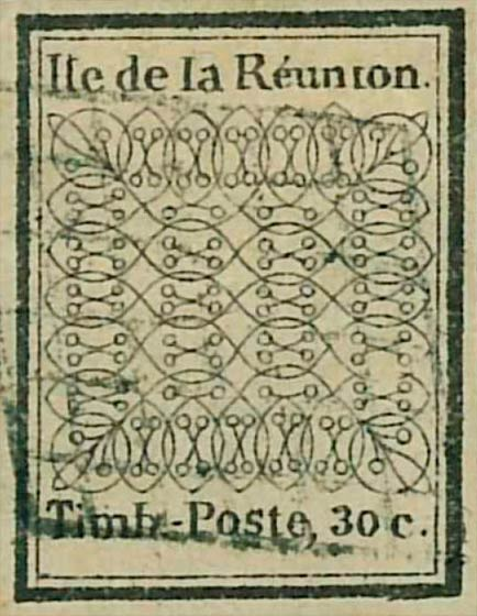Reunion_1852_30c_Forgery