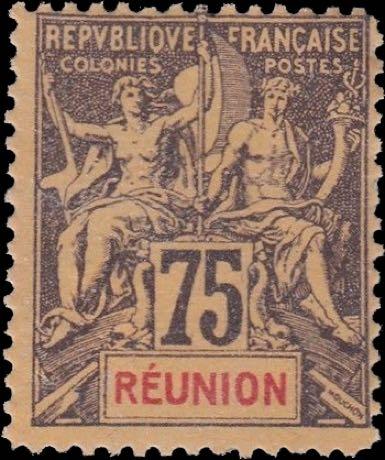 Reunion_1892_75c_Hirschburger_Fournier