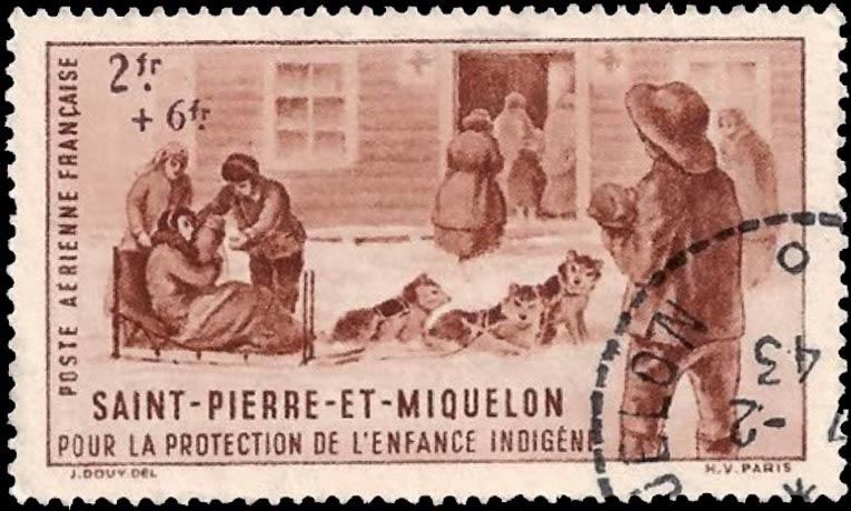 St-Pierre_Et_Miquelon_1943_2f_Forged_Postmark