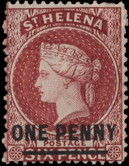 St.Helena_QV_1p-6p_red_Genuine