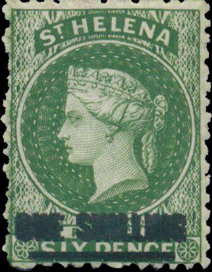 St.Helena_QV_1s-6pD_green_Genuine