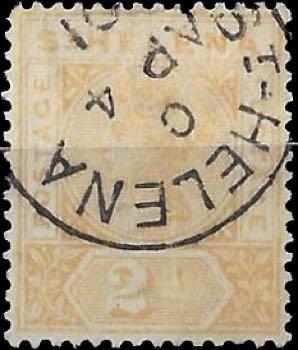 st-helena_qv_2p_forged_postmark