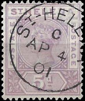 st-helena_qv_5p_forged_postmark