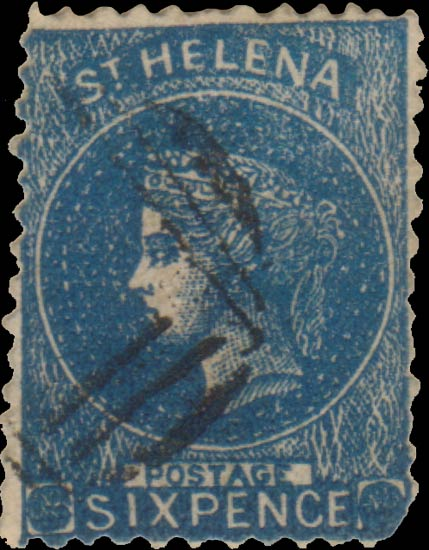St.Helena_QV_6p_blue_Taylor_Forgery