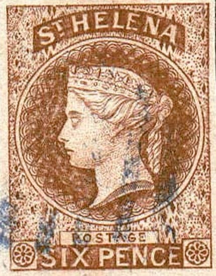 St.Helena_QV_6p_brown_Forgery