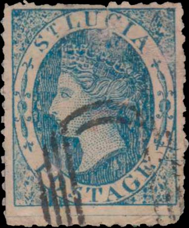 St.Lucia_QV_blue_Spiro_Forgery