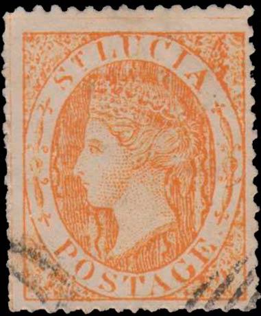 St.Lucia_QV_orange_Spiro_Forgery