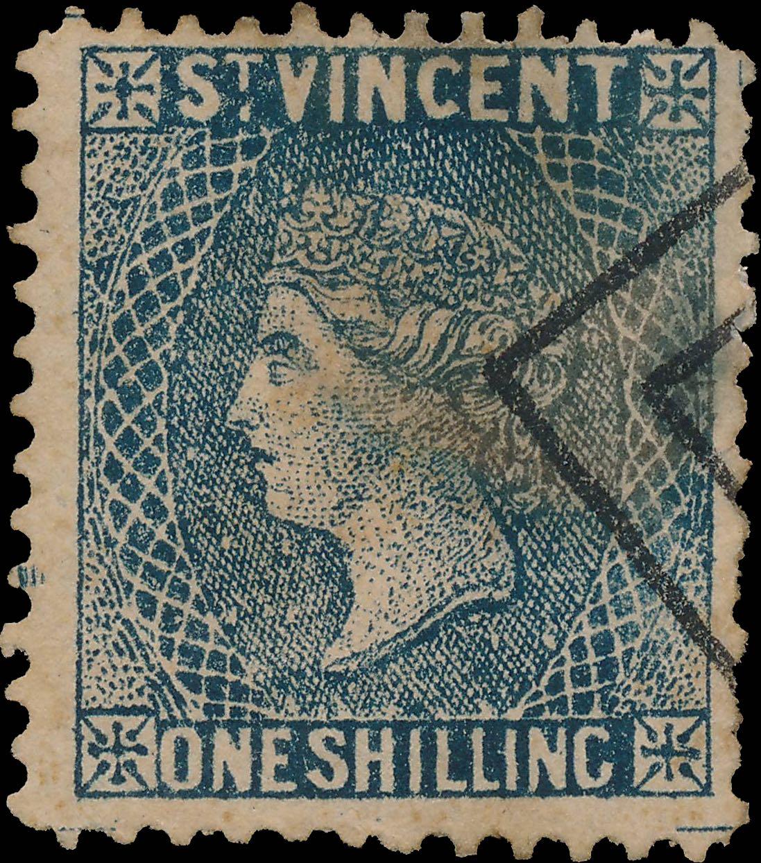 St.Vincent_QV_1s_blue_Forgery