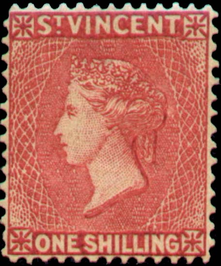 St.Vincent_QV_1s_red_Panelli_Forgery