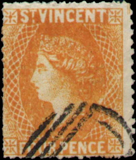 St.Vincent_QV_4p_yellow_Spiro_Forgery