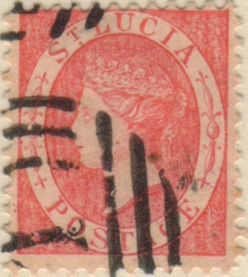 St_Lucia_QV_1p_Oneglia_Forgery