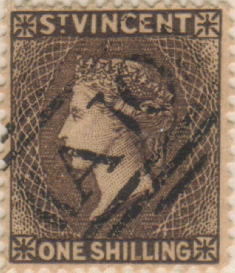 St_Vincent_QV_1s_brown_Panelli_Forgery