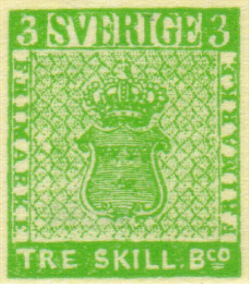 Sweden_1854_3sk_green_Winter_Forgery