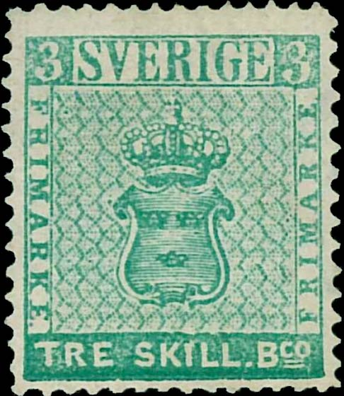 Sweden_1855_3skilling_Reperforated1