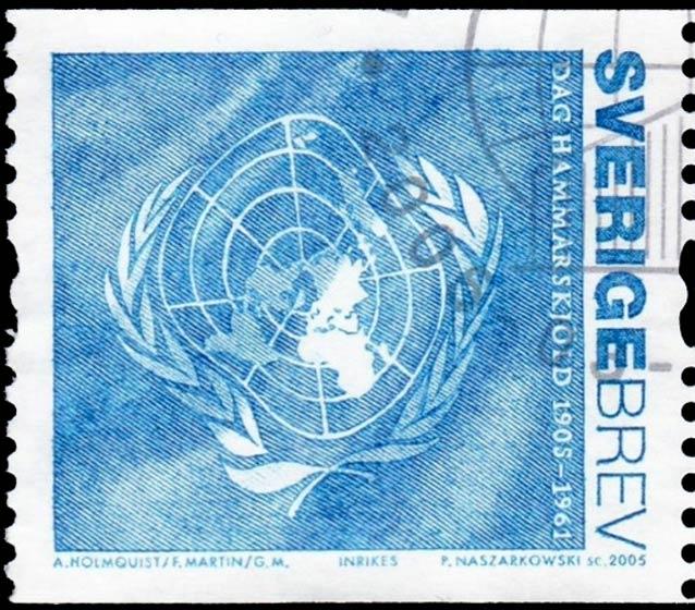 Sweden_2005_Hammerskjold_Brev_Blue_Genuine