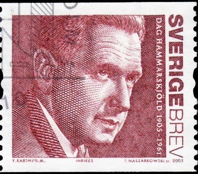 Sweden_2005_Hammerskjold_Brev_Genuine