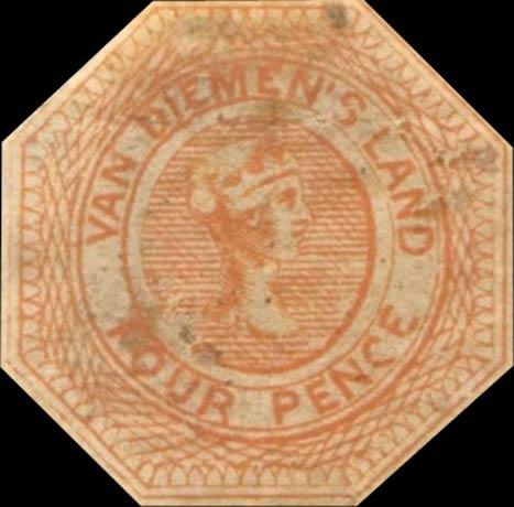 Tasmania_1853_Courrier_4p_Forgery3